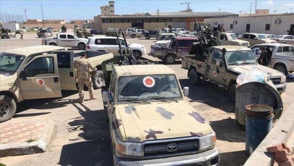 Libya daki UMH güçleri Yermuk Kampı nı yeniden ele geçirdi