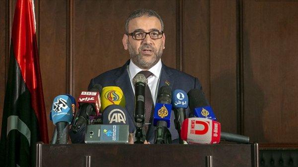 Libya Devlet Yüksek Konseyi Başkanından Türkiye ye destek