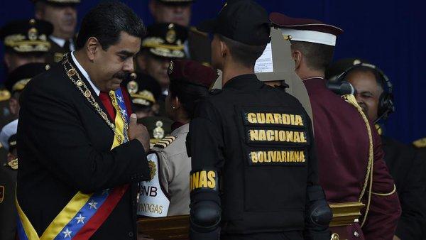 Maduro ya suikast girişiminde üst düzey askerlere gözaltı