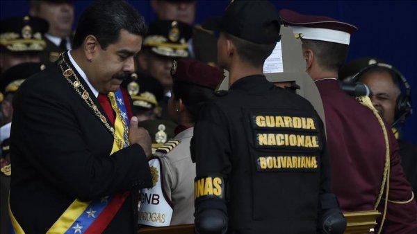 Maduro ya yönelik suikast girişiminde tutuklama kararı