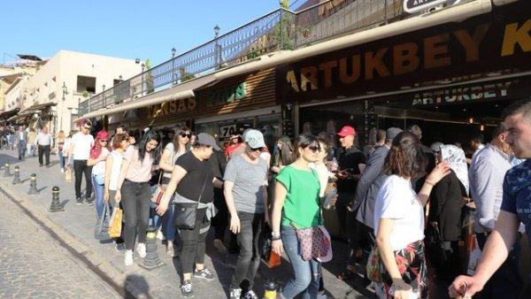 Mardin e turist akını