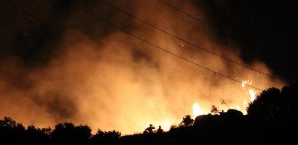 Marmara Adası ndaki yangının bilançosu: 80 hektar alan kül oldu