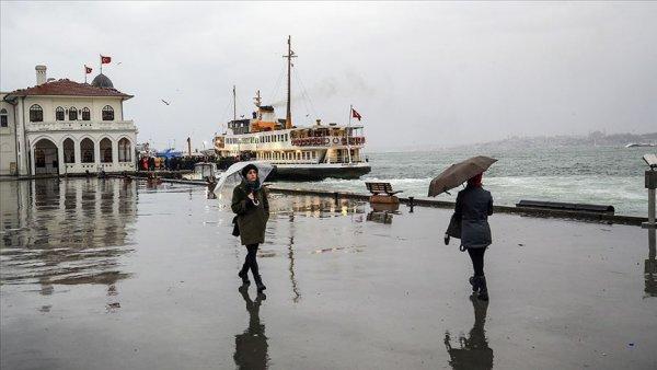 Marmara da aralıklı sağanak bekleniyor