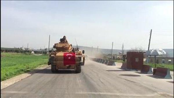 Mehmetçik in Afrin e girişi
