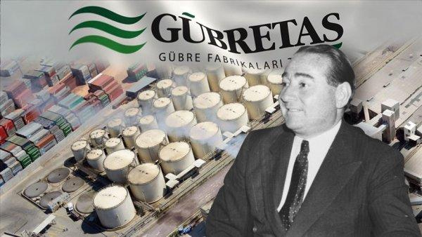 Menderes in kurduğu GÜBRETAŞ 68 yıldır Türk çiftçisinin yanında