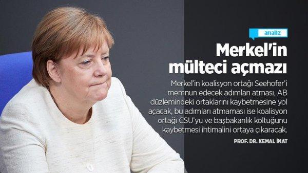 Merkel in mülteci açmazı