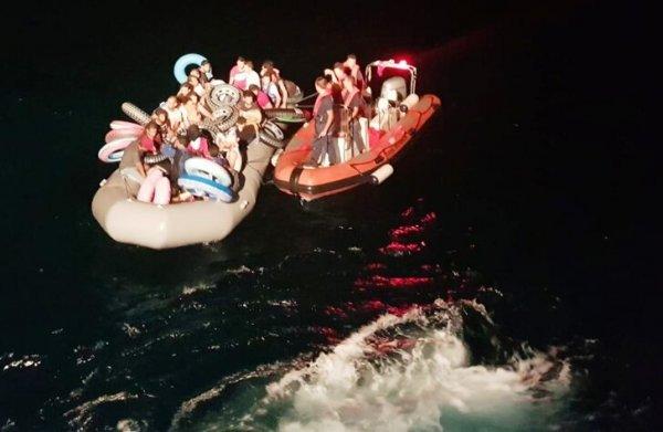 Muğla da 35 kaçak göçmen yakalandı