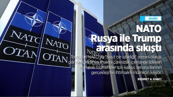 NATO Rusya ile Trump arasında sıkıştı