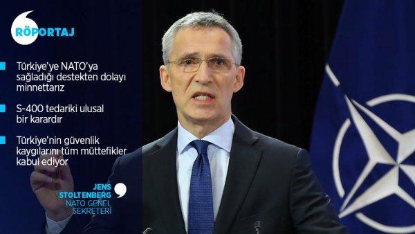 NATO terör tehdidine karşı Türkiye yle dayanışma içinde