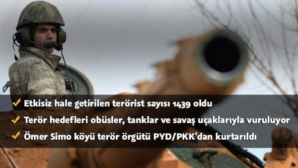 Ömer Simo köyü PYD PKK dan temizlendi