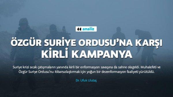 ÖSO na karşı kirli kampanya