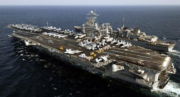 Pentagon dan Ortadoğu ya uçak gemisi sevkiyatı açıklaması