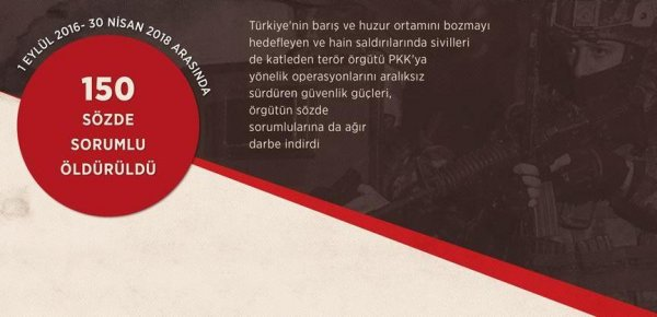 PKK nın sözde sorumlularına büyük darbe