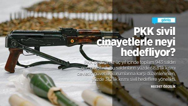 PKK sivil cinayetlerle neyi hedefliyor?