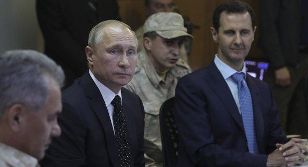 Putin ile Esed Soçi de bir araya geldi