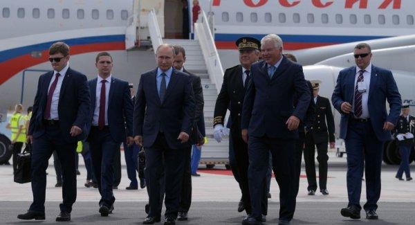 Putin in Fransa ziyareti başladı