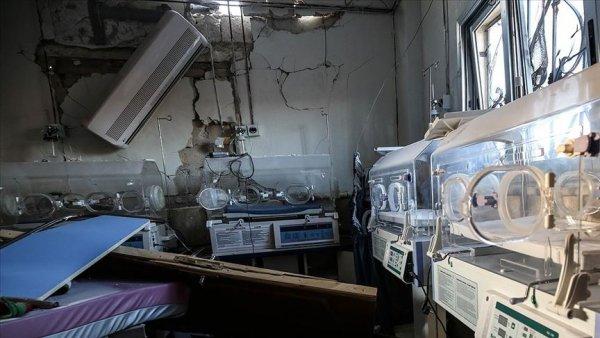 Rusya İdlib de çocuk hastanesini hedef aldı
