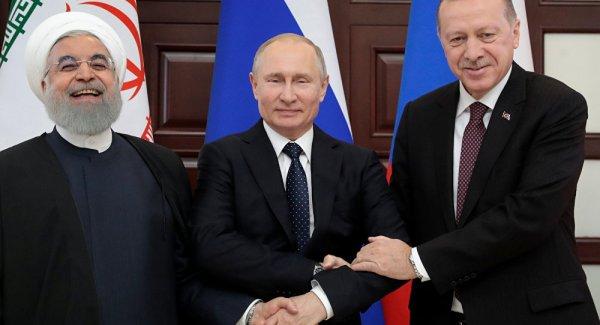 Rusya İran ve Türkiye nin Suriye işbirliği gerçek verimlilik sağlıyor