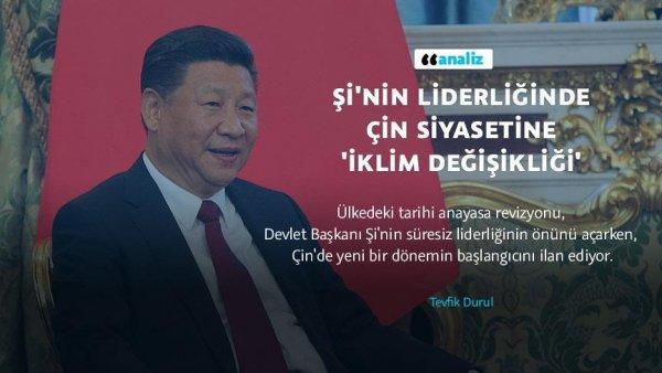 Şi nin liderliğinde Çin siyasetine iklim değişikliği