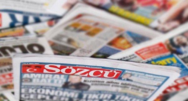 Sözcü yazarları ve yöneticileri hakkında FETÖ ye yardım suçlaması