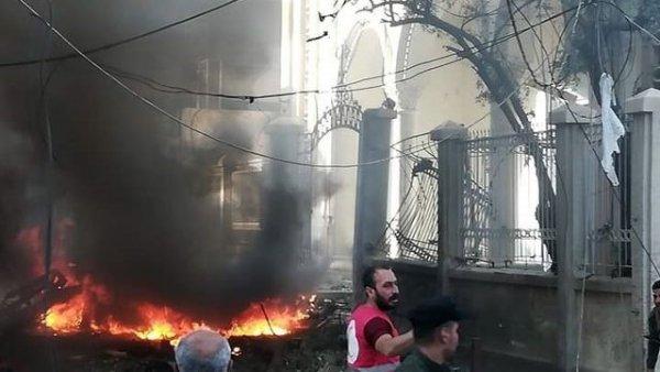 Suriye nin Haseke kentinde patlama