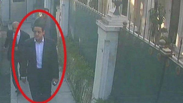 Suudi Prens in yardımcısı Kaşıkçı dan saatler önce konsolosluğa girmiş