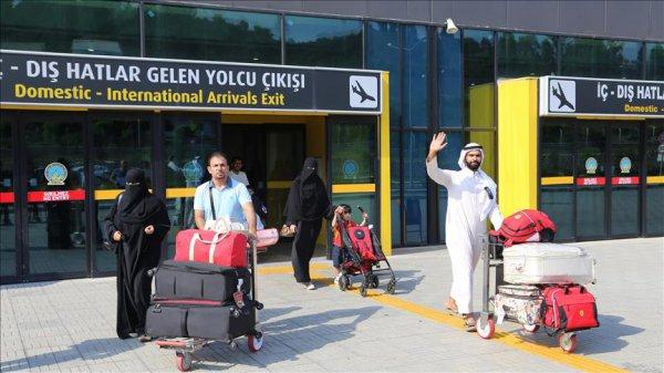 Suudi turist sayısında yüzde 35 artış