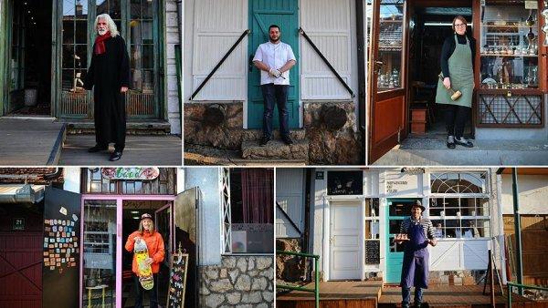 Tarihi sokağın fantastik beşlisi