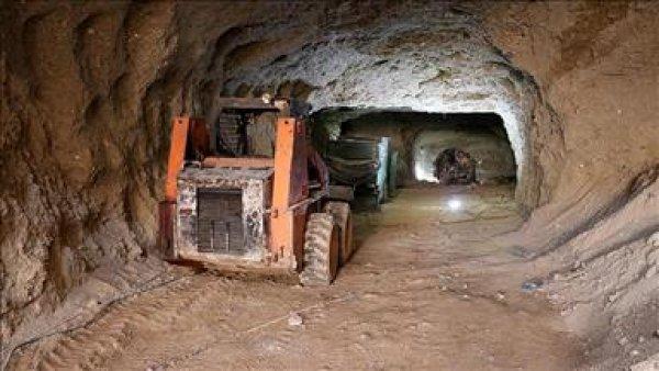 Teröristlerin Afrin deki tünelleri
