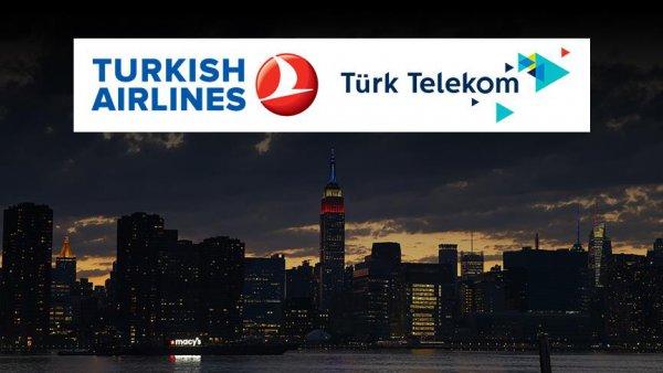 THY ve Türk Telekom ABD ye reklam verme kampanyasına katıldı