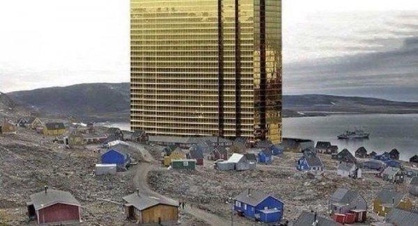 Trump Grönland a taktı