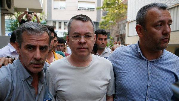 Turkish court releases US pastor Andrew Brunson