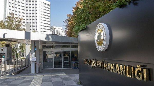Türkiye den Mısır Yunanistan GKRY zirvesi sonuç bildirisine tepki