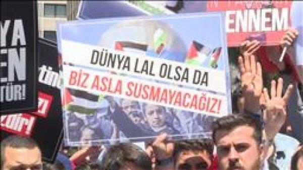 Türkiye Filistin için ayakta