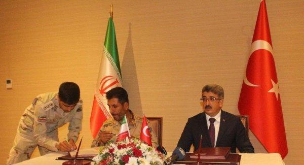 Türkiye İran hudut güvenliği mutabakatı imzalandı