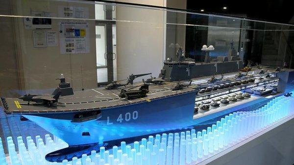 Türkiye nin ilk milli uçak gemisi TCG Anadolu