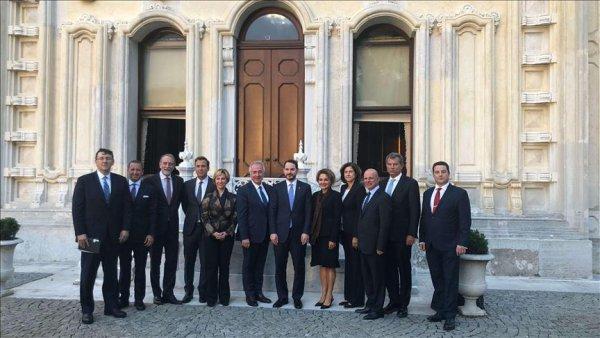 TÜSİAD heyeti Hazine ve Maliye Bakanı Berat Albayrak ı ziyaret etti