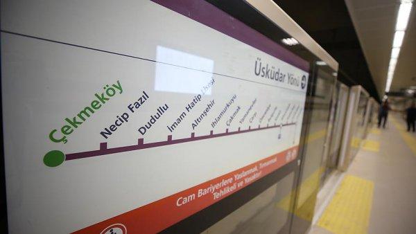 Üsküdar Ümraniye Çekmeköy metrosunun 2 etabı açılıyor