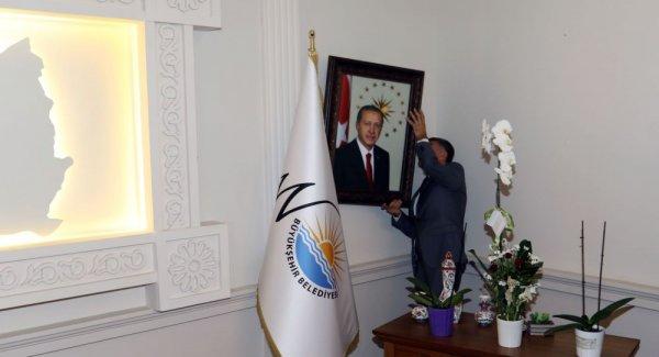 Van'a yeni Belediye Başkanı olarak atanan Vali Bilmez'den ilk iş