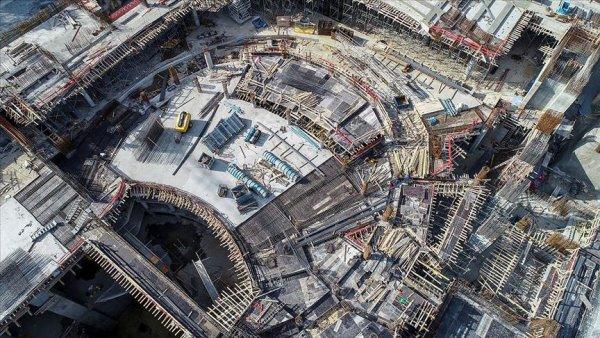 Yeni AKM nin kaba inşaatının yüzde 60 ı tamamlandı