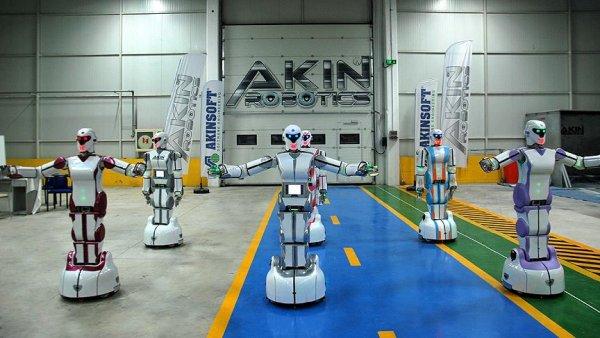 Yerli insansı robotlar oyun havası na girdi