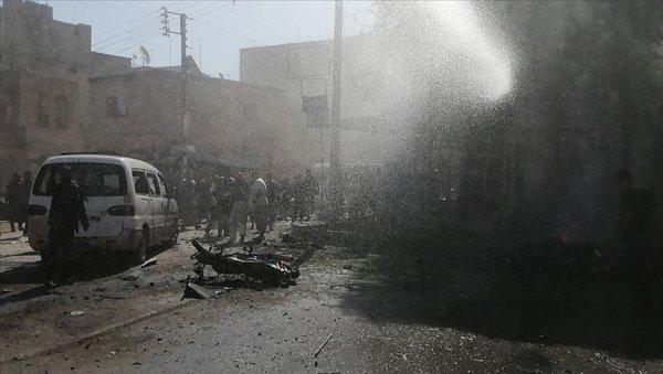 YPG PKK havanlarla Cerablus taki çocukları vurdu: 3 yaralı