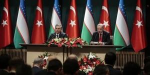 Özbekistan ile ticaretimizi 5 milyar dolara çıkarmayı hedefliyoruz