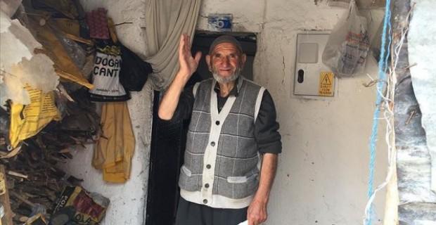 İbrahim dedenin ihtiyaçlarını belediye ekipleri karşıladı