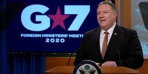 Trump yönetimi koronaya Vuhan virüsü denilmesi için tutturdu G7 toplantısı sonuçsuz kaldı