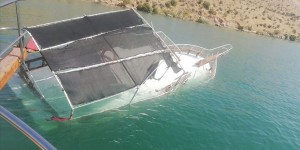 Şanlıurfa nın Halfeti ilçesinde tur teknesi battı