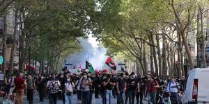 Fransa da Macron ve hükümet karşıtı protestolar düzenlendi