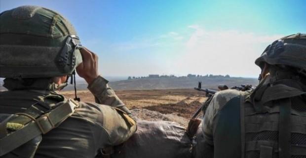 Barış Pınarı bölgesinde 8 PKK YPG li terörist etkisiz hale getirildi
