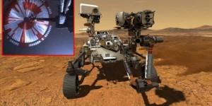 NASA Perseverance ın Mars a iniş anının görüntülerini yayınladı