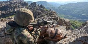 Barış Pınarı bölgesine saldırı girişiminde bulunan 4 terörist öldürüldü